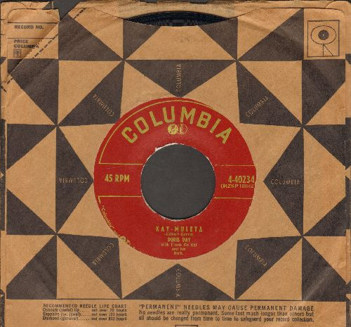 Day, Doris - Kay-Muleta/Someone Else's Roses (with Columbia company sleeve) - NM9/ - 45 rpm Records