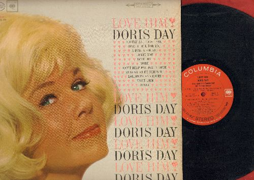 Day, Doris - Love Him: Softly As I Leave You, More, Funny, Can't Help Falling In Love (Vinyl STEREO LP record) - EX8/EX8 - LP Records