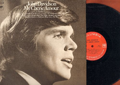 Davidson, John - My Cherie Amour: A Time For Us, The Letter, My Way, You've Made Me So Very Happy (vinyl STEREO LP record) - EX8/EX8 - LP Records