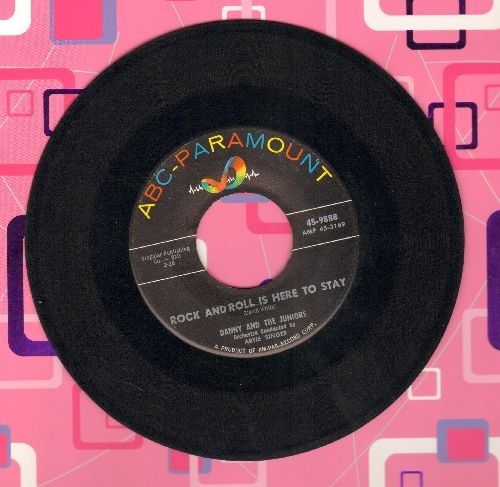 Danny & The Juniors - Rock And Roll Is Here To Stay/School Boy Romance - EX8/ - 45 rpm Records