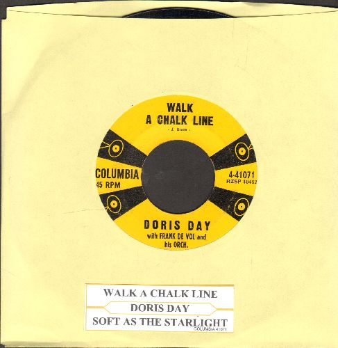 Day, Doris - Soft As The Starlight/Anyway The Wind Blows (with juke box label) - EX8/ - 45 rpm Records