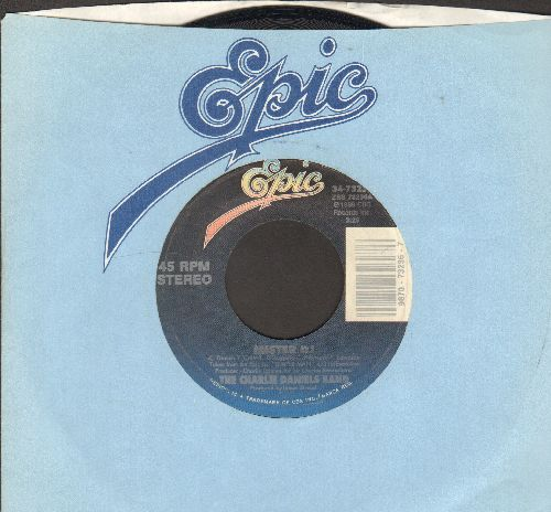 Daniels, Charlie Band - Mister DJ/It's My Life (with Epic company sleeve) - EX8/ - 45 rpm Records