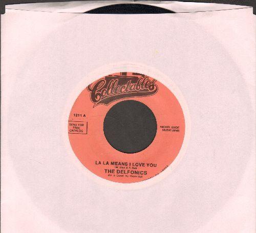 Delfonics - La-La-Means I love You/I'm Sorry (double-hit re-issue) - NM9/ - 45 rpm Records