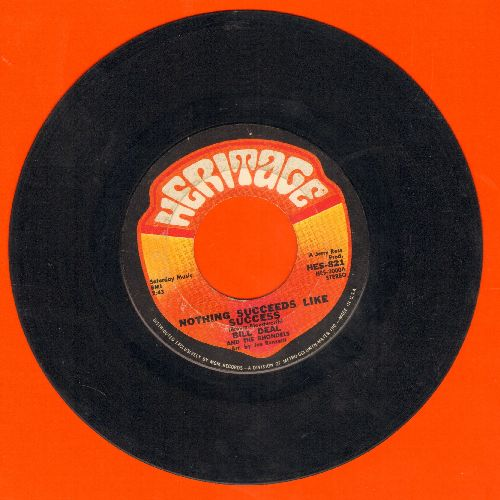 Deal, Bill & The Rhondels - Nothing Succeeds Like Success/Swingin' Tight - VG7/ - 45 rpm Records