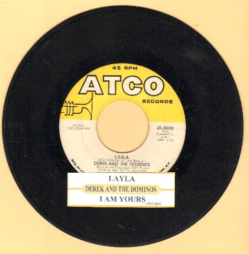 Derek - Layla/I Am Yours (with juke box label) - EX8/ - 45 rpm Records