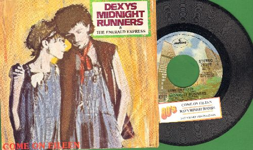 Dexy's Midnight Runners - Come On Eileen/Let's Make This Precious (with juke box label and RARE picture sleeve) - NM9/EX8 - 45 rpm Records