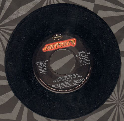 Dexy's Midnight Runners - Jackie Wilson Said (I'm In Heaven When You Smile) (double-hit re-issue) - NM9/ - 45 rpm Records