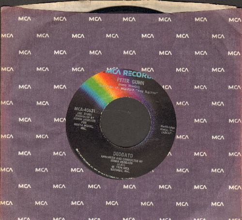 Deodato - Peter Gunn/Amani (with MCA company sleeve) - NM9/ - 45 rpm Records