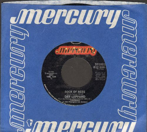 Def Leppard - Rock Of Ages/Bily's Got A Gun (with Mercury company sleeve) - NM9/ - 45 rpm Records