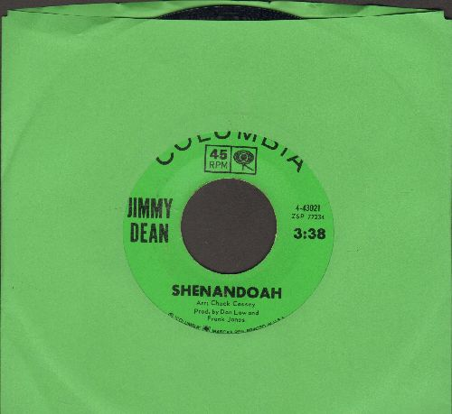 Dean, Jimmy - Shenandoah/Wait For The Wagon - NM9/ - 45 rpm Records