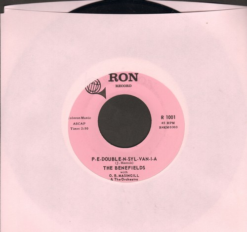 Benefields - P-E-Double-N-Syl-Van-I-A/Dear Hearts And Gentle People - EX8/ - 45 rpm Records