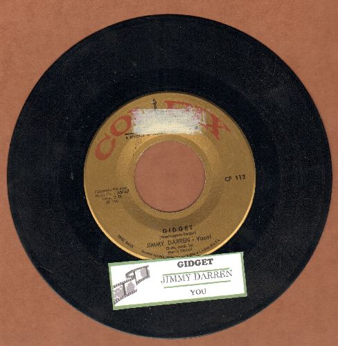 Darren, James - Gidget/You (with juke box label) (sol) - EX8/ - 45 rpm Records