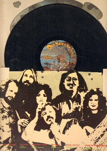 Hicks, Dan and his Hot Licks - Strinking It Rich: You Got To Believe, Moody Richard (Innocent Bystander), Philly Rag, The Laughing Song, I'm An Old Cowhand (vinyl LP record, gate-fold cover) - EX8/VG7 - LP Records