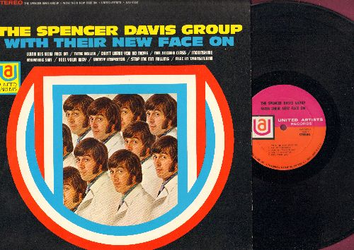Davis, Spencer Group - The Spencer Davis Group With Their New Face On: Feel Your Way, Morning Sun, Time Seller, Alec In Transitland (vinyl STEREO LP record) - NM9/NM9 - LP Records