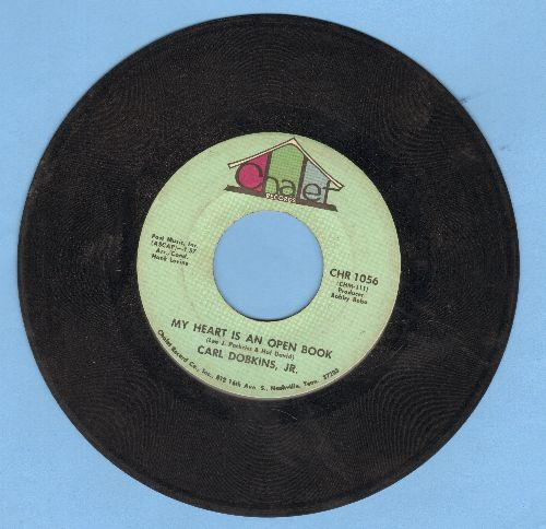 Dobkins, Carl Jr. - My Heart Is An Open Book/Picture - VG7/ - 45 rpm Records