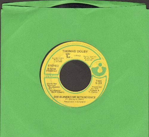 Dolby, Thomas - She Blinded Me With Science/Flying North (RARE early pressing) - VG7/ - 45 rpm Records
