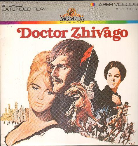 Doctor Zhivago - Doctor Zhivago - LASERDISC version of the Movie Classic, 2 LASERDISCs (THIS IS A SET OF LASERDISCS, NOT ANY OTHER KIND OF MEDIA) - NM9/EX8 - LaserDiscs