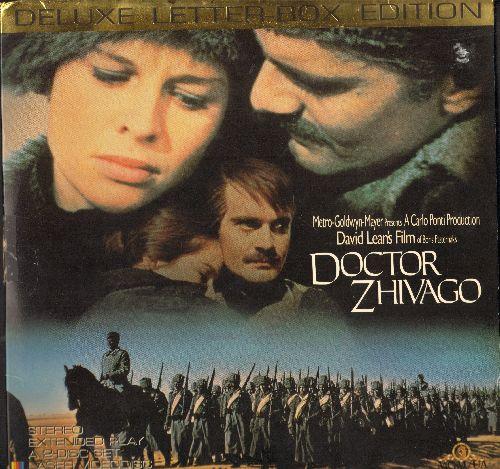 Doctor Zhivago - Doctor Zhivago - LASERDISC version of the Movie Classic, 2 LASERDISCs, Deluxe Letter Box Edition (THIS IS A SET OF LASERDISCS, NOT ANY OTHER KIND OF MEDIA) - NM9/EX8 - LaserDiscs