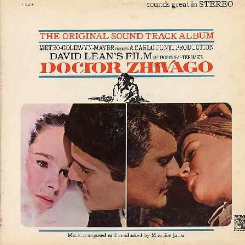 Doctor Zhivago - Doctor Zhivago - Original Motion Picture Sound Track featuring -Lara's Theme- (vinyl STEREO LP record) - NM9/EX8 - LP Records