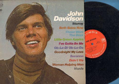 Davidson, John - John Davidson: Both Sides Now, Ob'La'Di Ob'La'Da, Those Were The Days, Goodnight My Love (vinyl STEREO LP record) - NM9/VG7 - LP Records