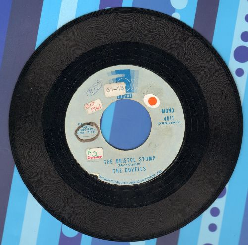 Dovells - Bristol Stomp/You Can't Sit Down (double-hit re-issue, sol) - EEX8/ - 45 rpm Records