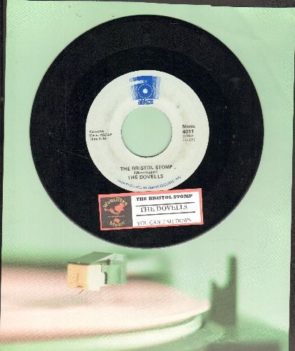 Dovells - Bristol Stomp/You Can't Sit Down (double-hit re-issue with juke box label) - EX8/ - 45 rpm Records