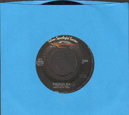 Domino, Fats - Blueberry Hill/Bo Weevil (double-hit re-issue) - VG7/ - 45 rpm Records