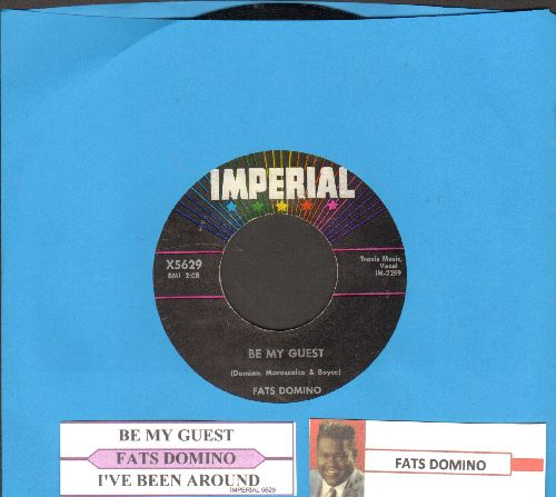 Domino, Fats - Be My Guest/I've Been Around (with juke box label) - EX8/ - 45 rpm Records
