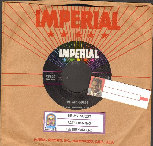 Domino, Fats - Be My Guest/I've Been Around (with juke box label and vintage Imperial company sleeve) - NM9/ - 45 rpm Records