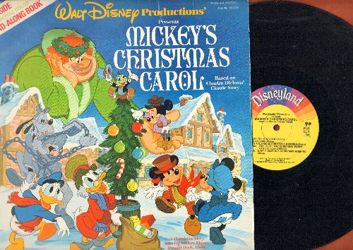Disney - Mickey's Christmas Carol - Story And Songs (vinyl LP record) - VG7/VG7 - LP Records