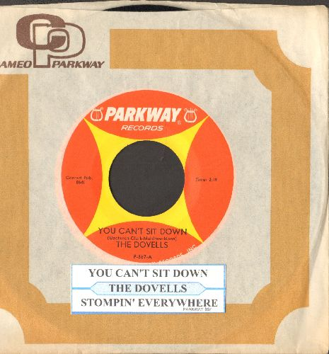 Dovells - You Can't Sit Down/Stompin' Everywhere (with juke box label and company sleeve) - NM9/ - 45 rpm Records