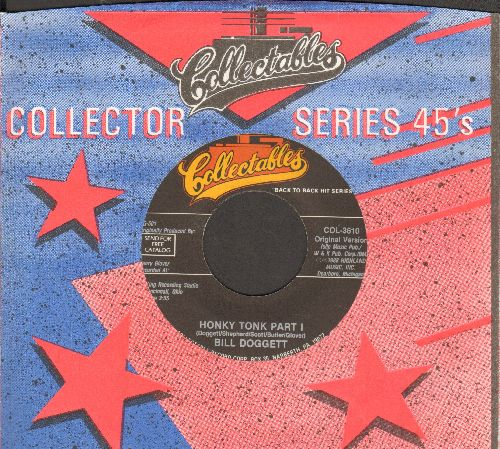 Doggett, Bill - Honky Tonk (Parts 1 + 2) (re-isue with company sleeve) - NM9/ - 45 rpm Records