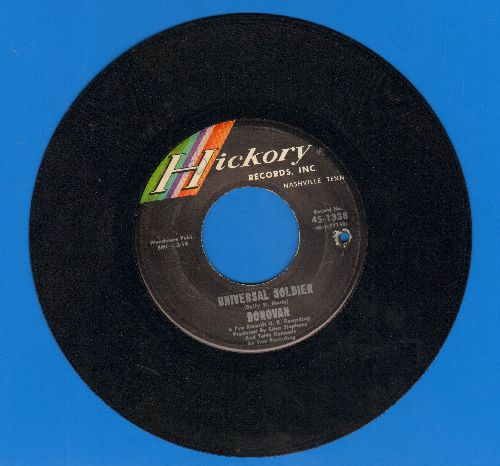 Donovan - Universal Soldier/Do You Hear Me Now (bb) - EX8/ - 45 rpm Records