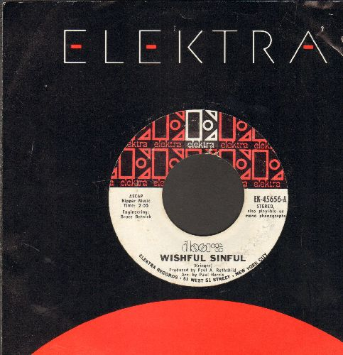 Doors - Wishful Sinful/Who Scared You (with Elektra company sleeve) - NM9/ - 45 rpm Records