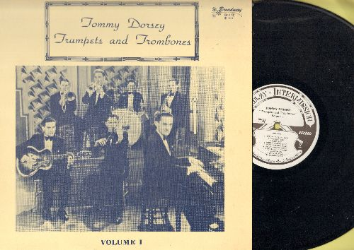 Dorsey, Tommy & His Orchestra  - Trumpets and Trombones Vol. 1 (vinyl LP record re-issue of vintage recordings) - NM9/NM9 - LP Records