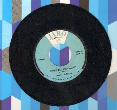 Douglas, Craig - What Do You Want/My First Love Affair (RARE Teen Idol 2-sider, NICE condition! - NM9/ - 45 rpm Records