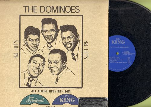 Dominoes Featuring Clyde McPhatter - All Their Hits (1951-1965): Sixty Minute Man, The Bells, Can't Do Sixty No More, What Are You Doing New Year's Eve, Have Mercy Baby (Vinyl LP record, re-issue of vintage recordings) - NM9/NM9 - LP Records