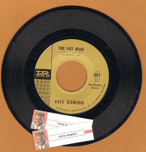 Domino, Fats - The Fat Man/Goin' Home (authentic-looking double-hit re-issue) - NM9/ - 45 rpm Records