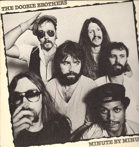 Doobie Brothers - Minute By Minute: What A Fool Believes, Open Your Eyes, Here To Love You (vinyl LP record) - EX8/NM9 - 45 rpm Records