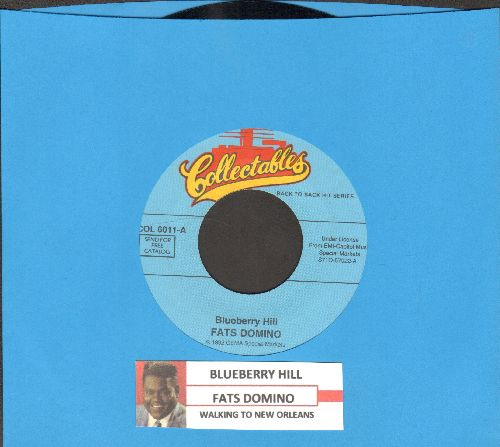 Domino, Fats - Blueberry Hill/Walking To New Orleans (double-hit re-issue with juke box label) - NM9/ - 45 rpm Records