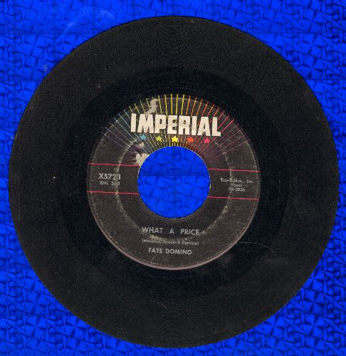 Domino, Fats - What A Price/Ain't That Just Like A Woman - VG7/ - 45 rpm Records