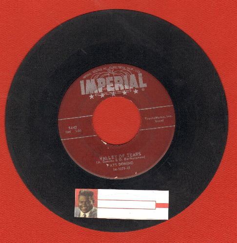 Domino, Fats - Valley Of Tears/It's You I Love - VG7/ - 45 rpm Records