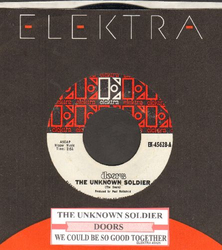 Doors - The Unknown Soldier/We Could Be So Good Together (with Elektra company sleeve and juke box label) - EX8/ - 45 rpm Records