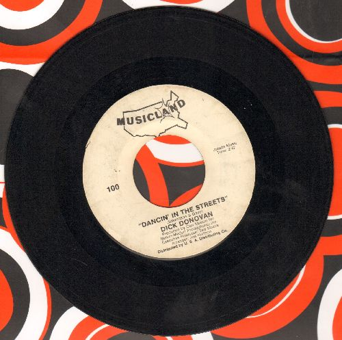Donovan, Dick - Dancin' In The Streets/Crying In The Rain  - VG7/ - 45 rpm Records