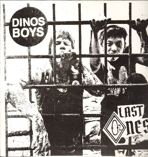 Dinos Boys - Last Ones: Catapult, Kid You Hate, Knee High, She's Out-Dated (vinyl LP record, 2013 first pressing) - NM9/NM9 - LP Records