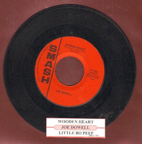 Dowell, Joe - Wooden Heart/Little Bo Peep (with juke box label) - VG7/ - 45 rpm Records