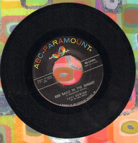Domino, Fats - Red Sails In The Sunset/Song For Rosemary - EX8/ - 45 rpm Records