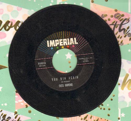 Domino, Fats - Ida Jane/You Win Again - VG7/ - 45 rpm Records