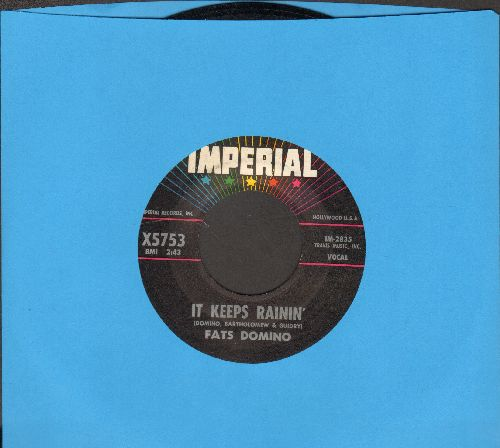 Domino, Fats - It Keeps Rainin'/I Just Cry - NM9/ - 45 rpm Records