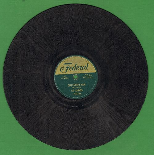 Dominoes - Sixty-Minute Man/I Can't Escape From You (10 inch 78 rpm record) - G5/ - 78 rpm